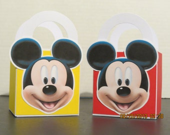 Mickey Mouse Favor/Treat Bags (Set of 12)