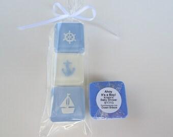 Sailboat, Anchor and Ship Wheel Soap Set