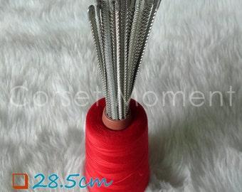 12 x 28.5cm Long Flexible Corset Spiral Steel Bone Affordable Corset Making Supplies
