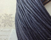 2 mm Black Color Cotton Cords (.sah)