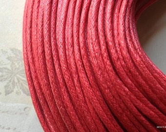 2 mm Red Color Cotton Cords (.sah)