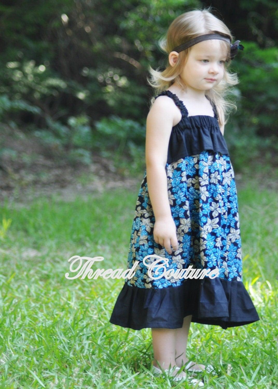 Easy Sundress Sewing Pattern Halter Dress Baby Toddler
