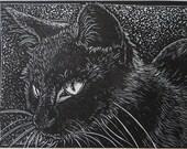 Wood Engraving:  Alice