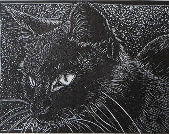 Wood Engraving:  Alice
