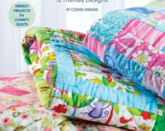 Quilt Pattern Book Quick and Easy Quilts for Kids Pattern Book Beginner Friendly Designs