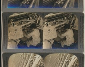 13 Massachusetts Stereoview photos Occupational Aerial Factories Machines New England