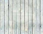 2ft x 2ft Vinyl Photography Backdrop  / Wiped Out Blue Wood / PRODUCT