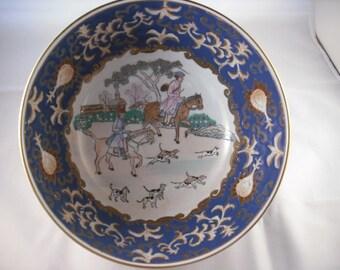 Chinese Export Enameled Bowl 20th Century