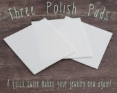 Set of Three Polish Pads