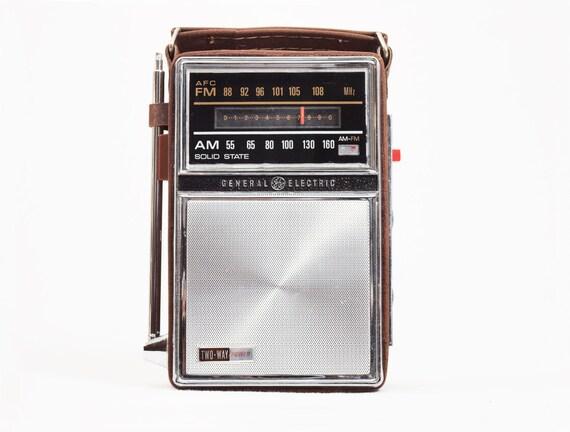 1960's GE Radio Stash Box, Storage Box, Secret Safe