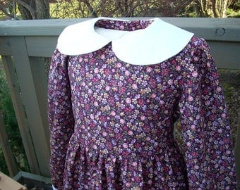 """Girls Pioneer Dress """"Laura Ingalls"""" Special Order Only"""