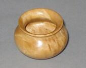 Masur Birch Turned Wood Miniature Pot