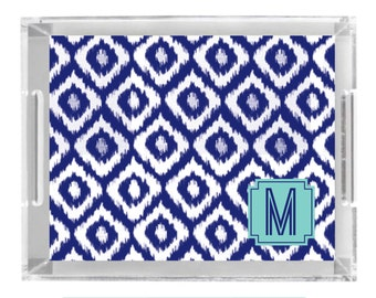 Personalized Lucite Tray - can be Monogram Monogrammed