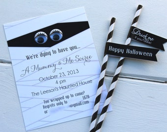 Mummy Party Invitations by Bloom