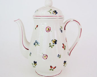 "Vintage Villeroy & Boch ""Petite Fleur"" Coffee Pot ON SALE"