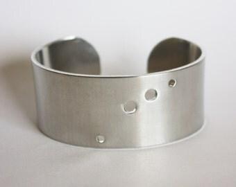 Aries Constellation Bracelet. Zodiac Jewelry. Constellation cuff bracelet. Aries zodiac jewelry. Aries birthday gift. Astrology. RTS CA003