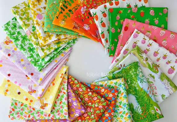 Half Yard Bundle, COMPLETE, Briar Rose Fabric Collection, Heather Ross, Windham Fabrics, Half Yard Set