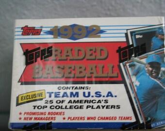 Topps Traded Baseball Card Set-1992-Sealed-Never Opened