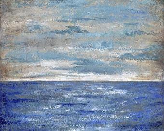 horizon ACRYLIC on CANVAS