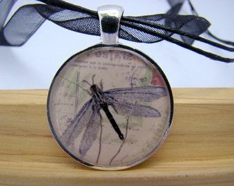 Resin Pendant, Dragonfly