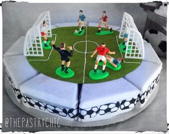 Soccer Onesie Cake Baby Shower Gift