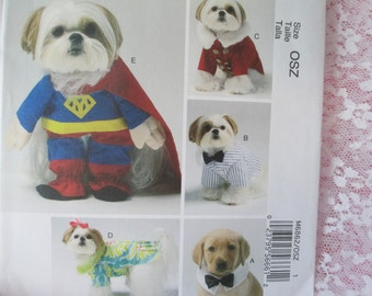 McCalls 6862 Dog Clothes and Costumes