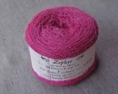 Fuchsia 2/18 Zephyr Wool/Silk Yarn