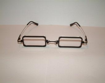 Black Frame clear lens Cosplay costume glasses
