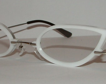 White Cats Cosplay Costume Glasses