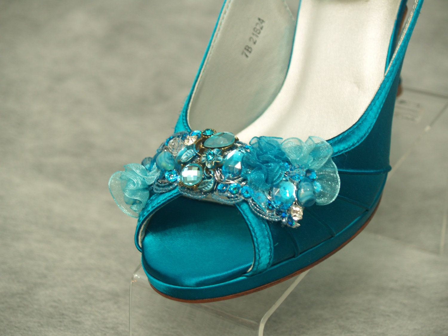 Teal Wedding Shoes 023 - Teal Wedding Shoes