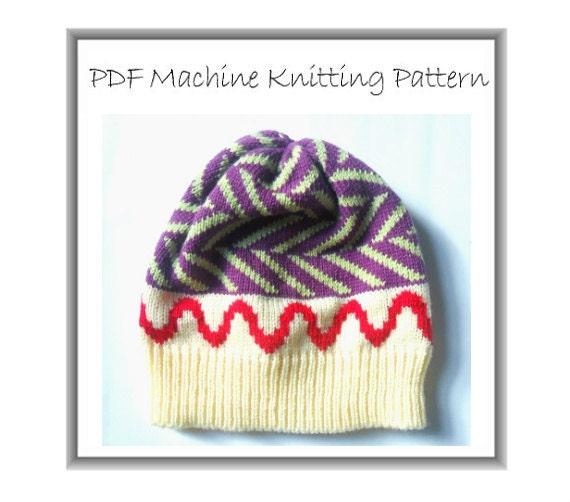 Beanie Pattern Hat Pattern Machine Knit Machine