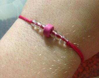 Pink Wish Bracelet READY TO SHIP