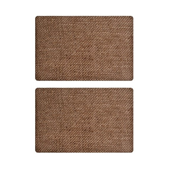 30% Off Today Only - Tim Holtz  Idea-ology - Burlap Panels - Bare -4X6 (2 Per Package)