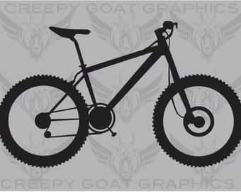 Mountain Bike Decal