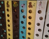Personalized Wooden Photo Growth Chart