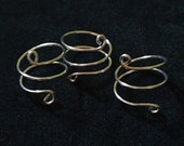 Spiral Knuckle Ring