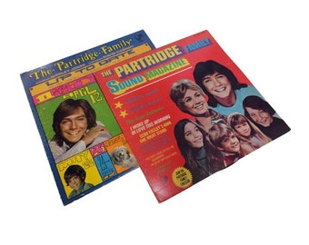 CLEARANCE Vintage The Partridge Family Records - Vintage Record Albums, Teen Idol, David Cassidy, Danny Bonaduce, Shirley Jones, TV Show