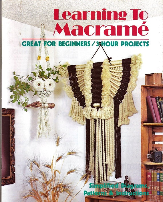 macrame projects for beginners learning to macrame great for beginners 3 hour projects 9370