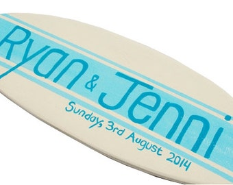Personalized Wedding Sign for your Beach Wedding Decor - 18 inchf