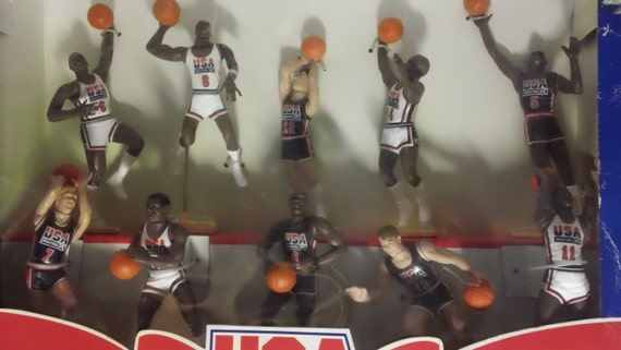 Vintage 1992 kenner starting lineup usa basketball olympic for Home decor kenner