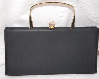 Lovely Vintage Black Evening Handbag Andie