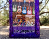 Loteria Day of the Dead Matchbox, Los Juguetes (toys) and El Tenorio