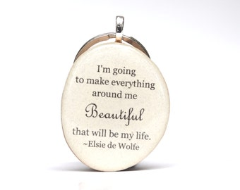 Inspirational keychain. Quote keychain. Going away gift.  Wood keychain. Starlight woods. Eco friendly gift.