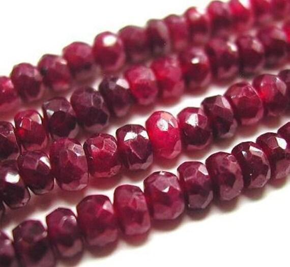 ruby 3 to 8 pieces 6mm precious
