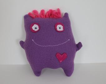 Happy Fleece Monster