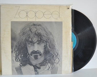 Vintage Frank Zappa Zapped Album Music Perfect Playable Vinyl LP Rock, Psychedelic Rock, Avant Garde