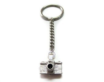 Photography Camera Keychain