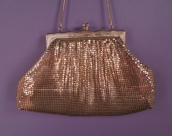 Vintage Gold Mesh Glomesh Bag, Made in Australia
