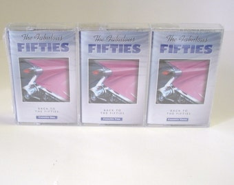 Fabulous Fifties Back To The Fifties Three Pack Audio Cassette Sealed