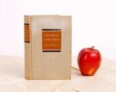 Book Kindle Cover, Nook Cover- Ereader Case-Vintage Book- Of Mice and Men